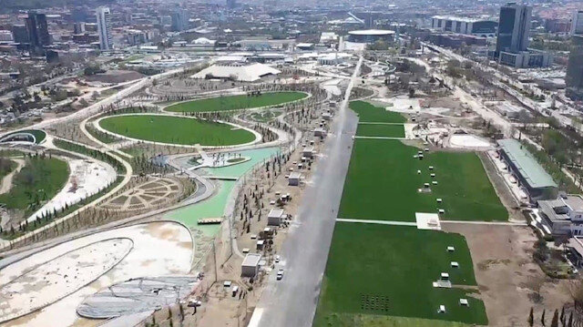 Ankara'nın dev millet bahçesi 30 Ağustos'ta açılıyor
