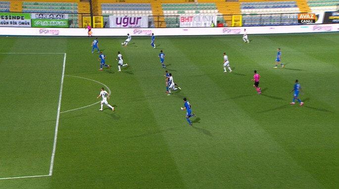 Giresunspor'un iptal edilen golünde 'ofsayt' kararı verildi.