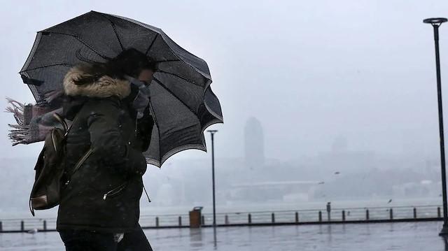 Meteorolojiden kuvvetli rüzgar ve yağış uyarısı!