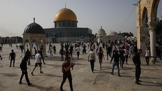 Dünya genelinde ünlüler İsrail polisinin Mescid-i Aksa'ya saldırısına tepki gösterdi
