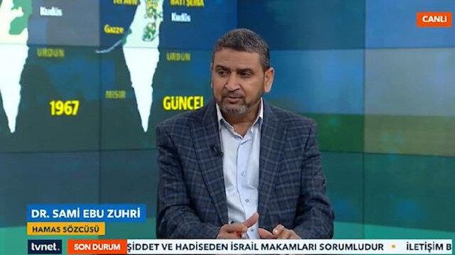 Hamas Sözcüsü Zuhri TVNET'te konuştu: İsrail yanlış hesap yapıyor direneceğiz