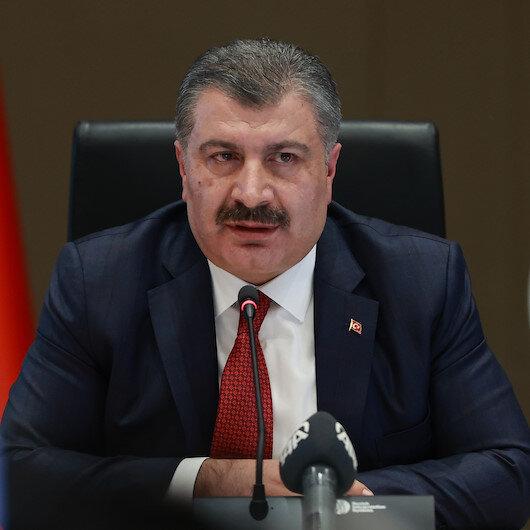 Sağlık Bakanı Koca 100 bin nüfusa karşılık gelen haftalık vaka sayısı haritasını açıkladı