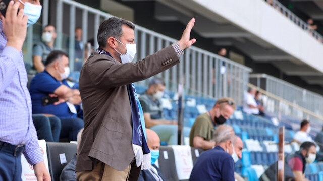 Başkan Kocaispir Adana Demirspor'u tebrik etti