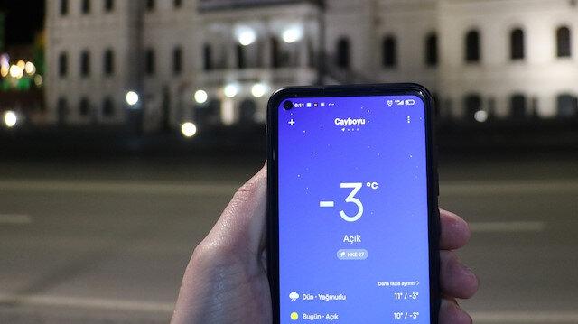 Sivas Mayıs ayında dondu: Termometreler eksi 3 dereceyi gösterdi
