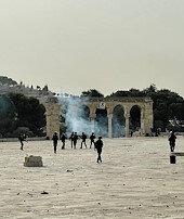 Mescid-i Aksada alçak saldırılar sürüyor