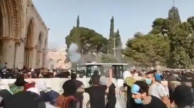 Filistin Kızılayı: İsrail polisi 180'den fazla kişiyi yaraladı
