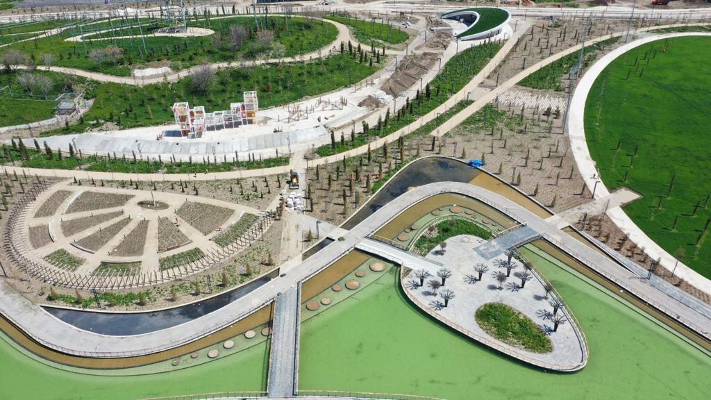 Ankara, millet bahçesine kavuşuyor.