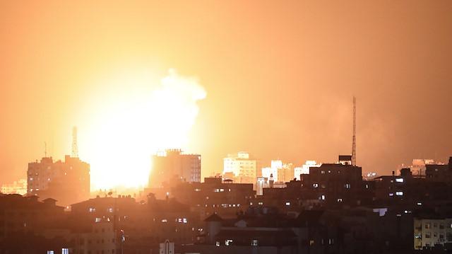 Hamas'tan İsrail'e uyarı: Gazze Şeridi'nde bombalamaya karşı bombalama sürecek