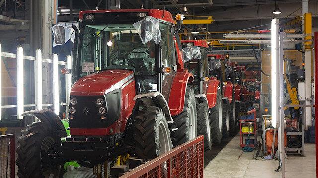 TÜMOSAN Gine'ye 50 traktör ihraç etti