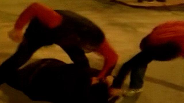 Samsun'da avukata sokak ortasında saldırı kamerada