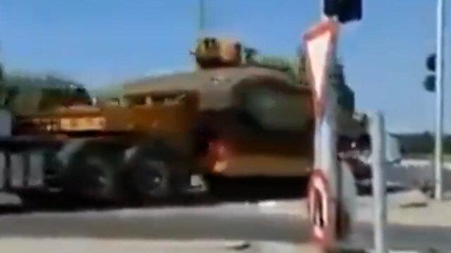 İşgalci İsrail'den Gazze sınırına askeri sevkiyat