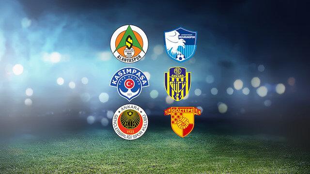 Süper Lig'de küme düşen takımlar belli olabilir