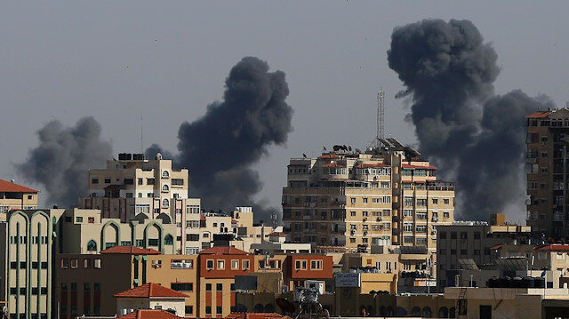 Filistin Sağlık Bakanlığı: İsrail saldırılarında 10'u çocuk 28 Filistinli şehit edildi