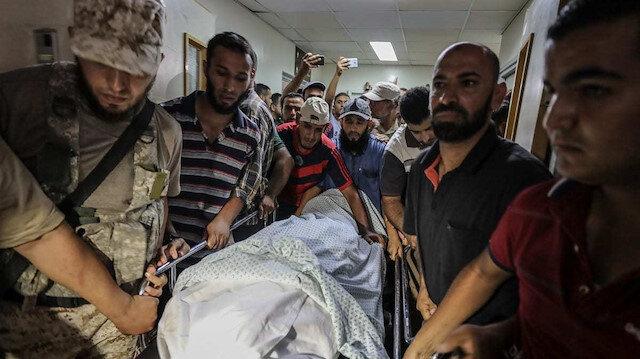 İsrail Gazze'ye savaş uçaklarıyla saldırdı: Şehit sayısı 24'e yükseldi