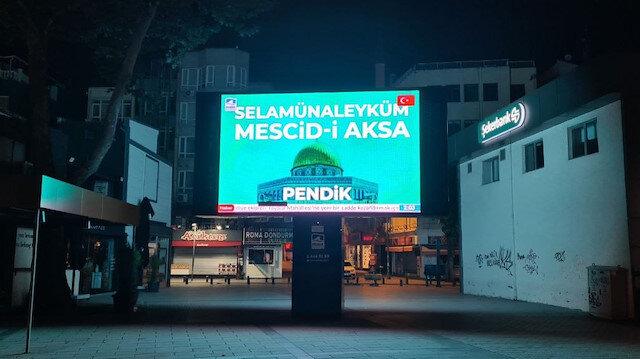 Bosna'da başladı İstanbul'da devam ediyor: Mescid-i Aksa'ya selam mesajları
