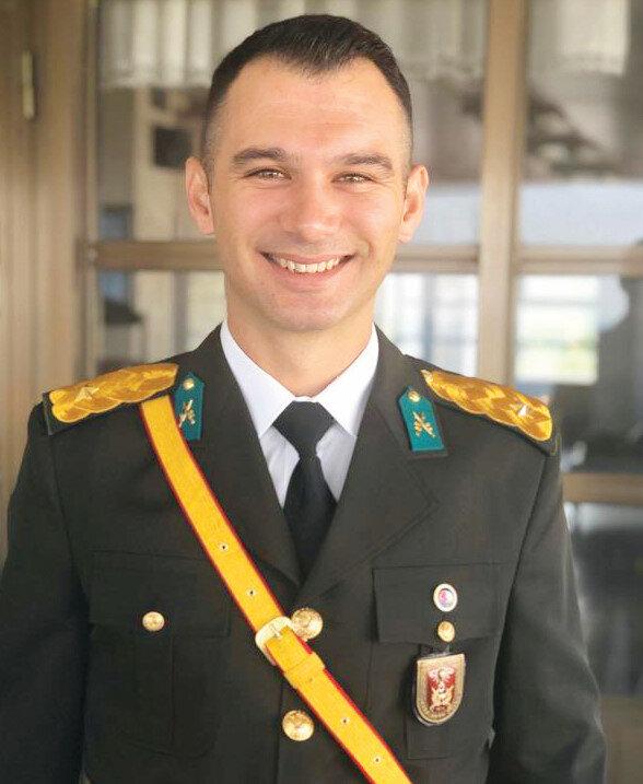 Piyade Teğmen Osman Alp