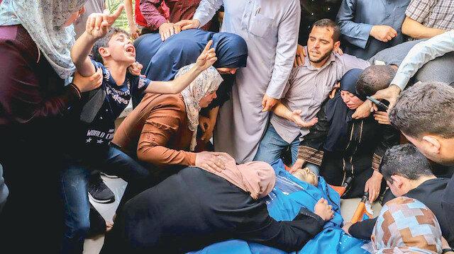 Gazze'nin 30 şehidi var
