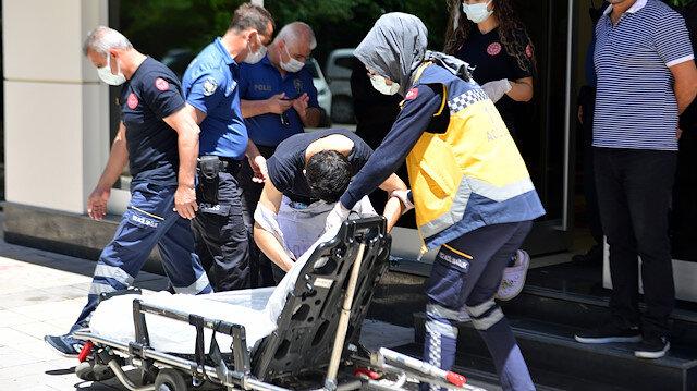 Kısıtlamada 15 kişi tarafından dövülen genç bankaya sığındı
