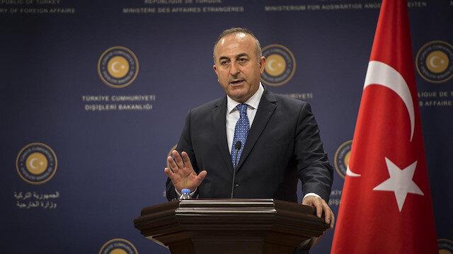 Bakan Çavuşoğlu'ndan Kuveyt Dışişleri Bakanı ile Filistin görüşmesi