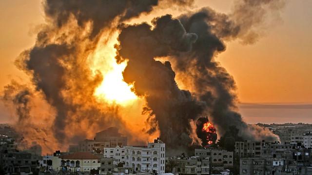 İsrail'in Gazze Şeridi'ne saldırılarında zarar 3,5 milyon doları geçti