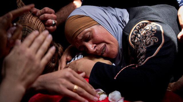 İsrail'in saldırılarında 2'si çocuk 9 Filistinli daha şehit oldu