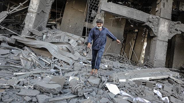 Gazze'deki Hükümet Bilgilendirme Ofisi: Konut kulelerinin hedef alınması savaş suçudur
