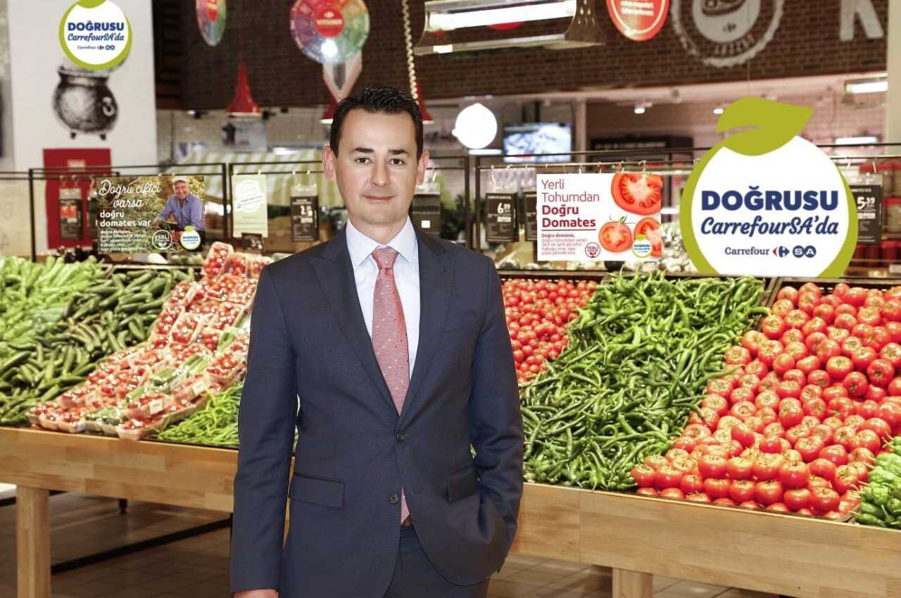 CarrefourSA CEO'su Kutay Kartallıoğlu.