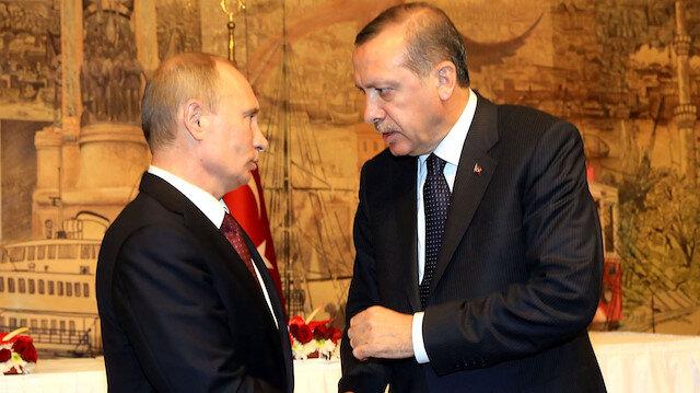 Cumhurbaşkanı Erdoğan Rusya Devlet Başkanı Putin görüşmesi: Filistinli sivillerin korunması için 'koruma gücü' fikri ele alındı