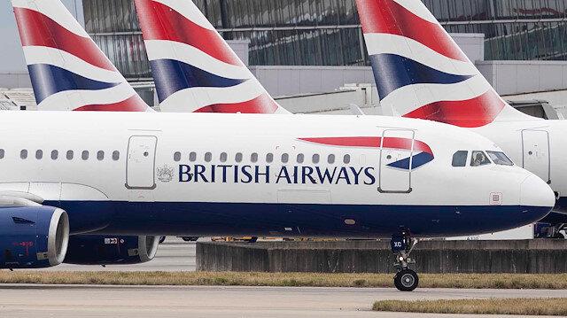 İngiliz hava yolu şirketi British Airways Tel Aviv uçuşlarını iptal etti