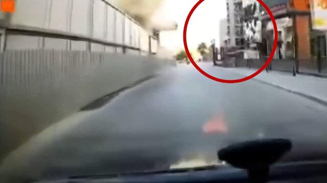 Pendik'teki metro inşaatındaki patlamaya ait yeni görüntüler ortaya çıktı