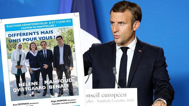 Fransa'da başörtülü kadın adaya seçim engeli