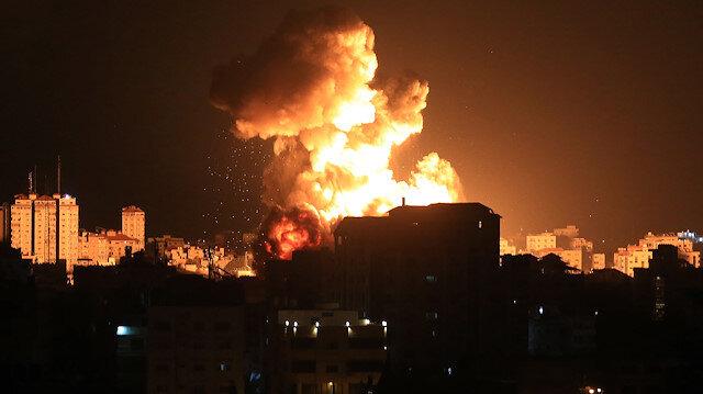 Gazze Sağlık Bakanlığı: Zehirli gaz nedeniyle şehit olduğu tahmin edilenler hastaneye kaldırıldı