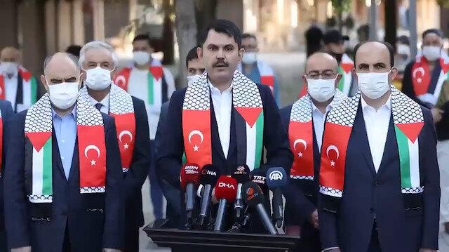 Bakan Kurum: Muhammed Durra ve Eren Bülbül aynı davanın neferiydi