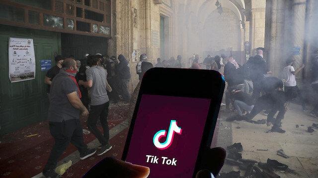 Filistin'e sosyal medya kuşatması: TikTok da sansürledi