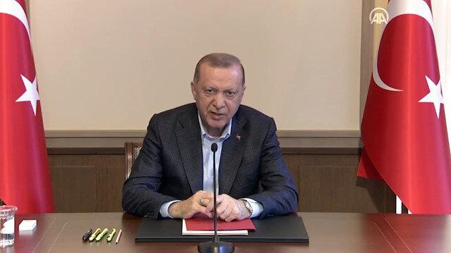 Cumhurbaşkanı Erdoğan: İsrail'in zulmüne eyvallah etmeyeceğiz