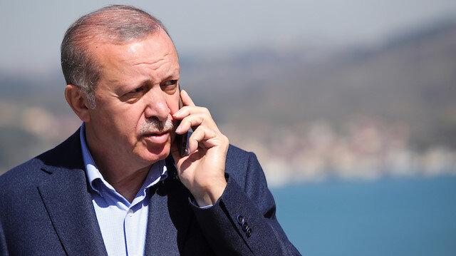 Cumhurbaşkanı Erdoğan'dan Filistin diplomasisi: 20'ye yakın ülkenin devlet ve hükümet başkanıyla telefon görüşmesi yaptı