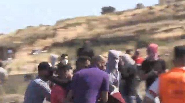 İşgalci İsrail askerleri, Batı Şeria'da Filistinlilere saldırdı: 27 kişi yaralandı