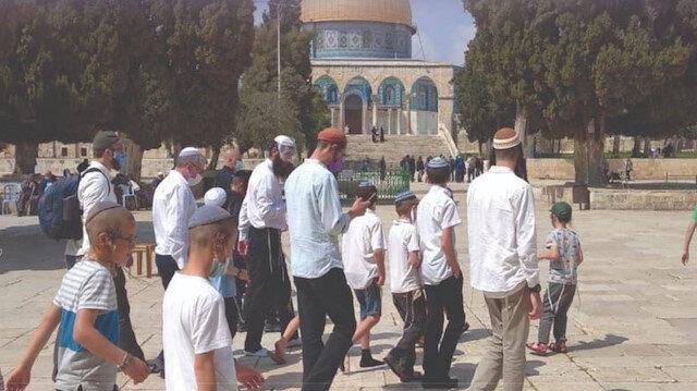 Radikal Yahudi grupları Mescid-i Aksa'ya 'baskın' düzenleyeceğini açıkladı