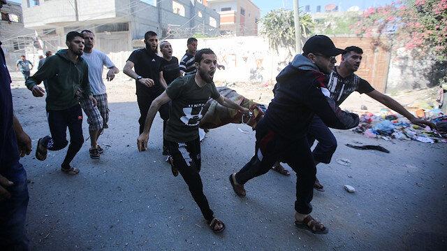 İşgalci İsrail'in saldırılarında Filistinli şehit sayısı 127'ye yükseldi