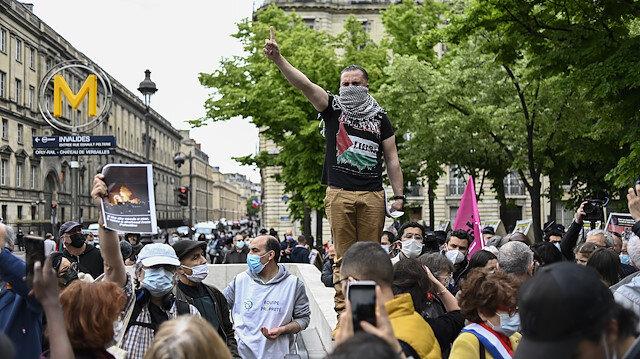 Fransa'dan Filistin'e destek gösterilerine yasak