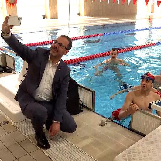 Gençlik ve Spor Bakanı Muharrem Kasapoğlundan paralimpik sporculara bayram ziyareti