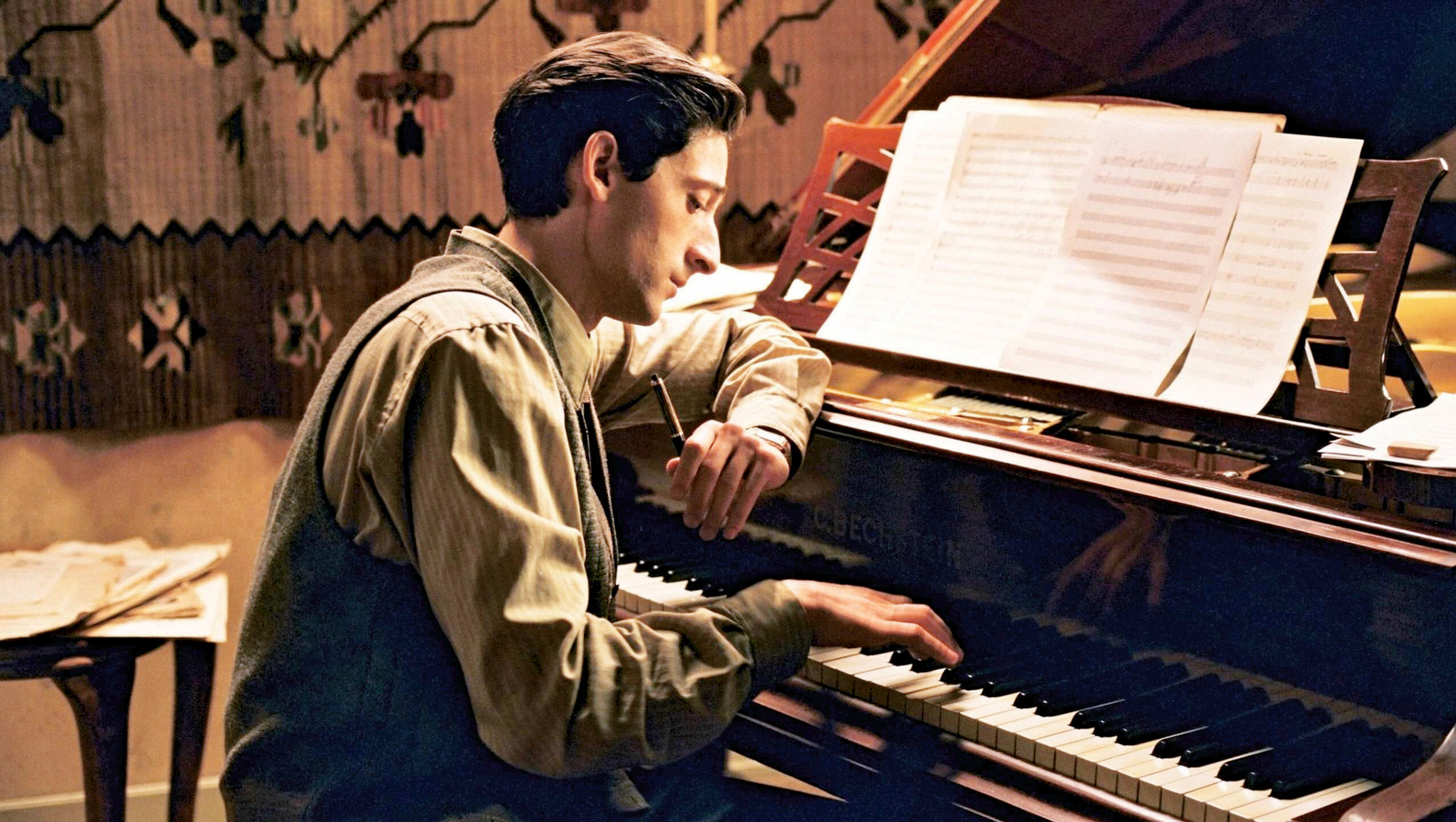 Piyanist filminden bir kare.