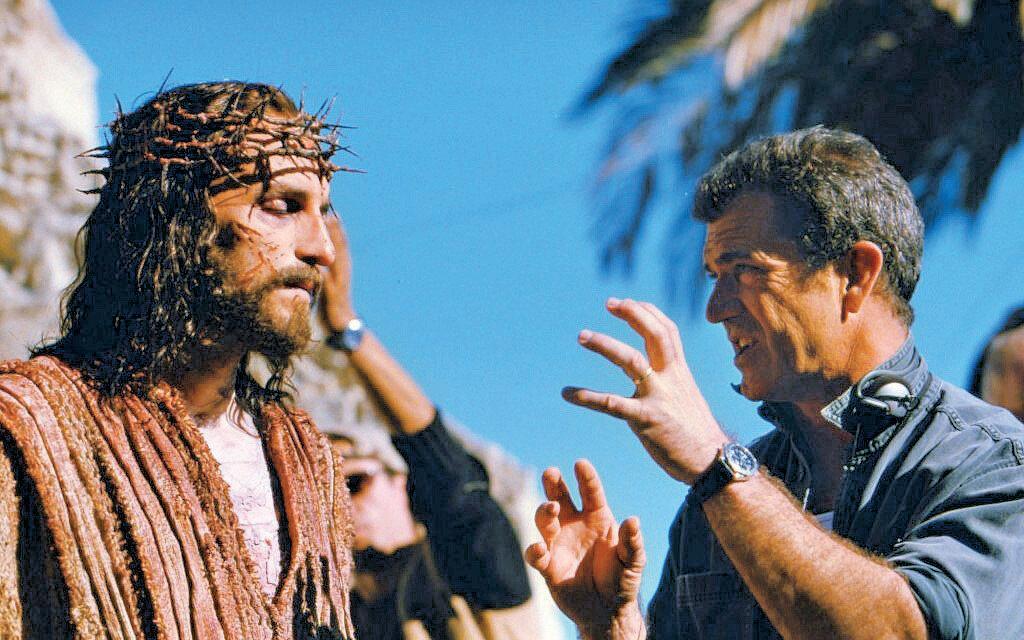 Mel Gibson 'Tutku' filminin çekimleri sırasında...