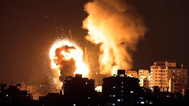 İşgalci İsrail'in saldırılarında 7 Filistinli daha şehit oldu