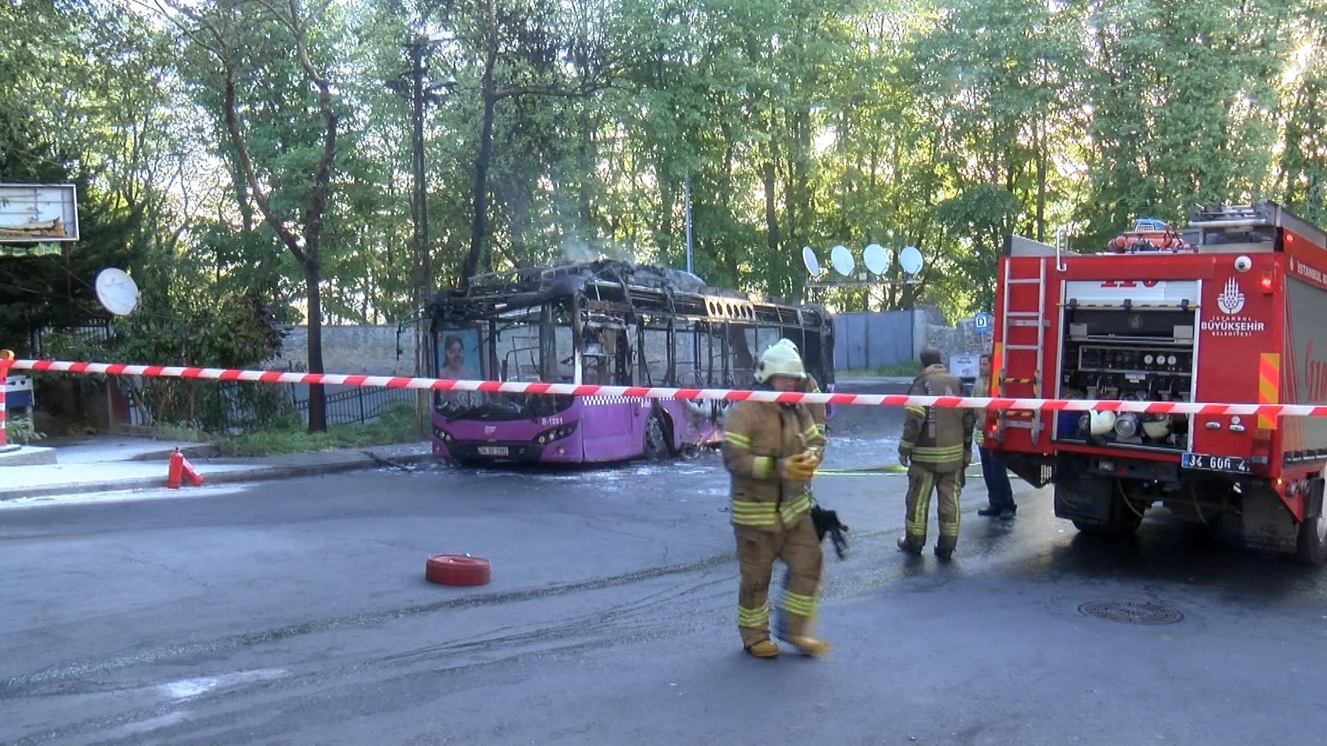 Yangının çıkış nedeni henüz belli olmadığı açıklandı.