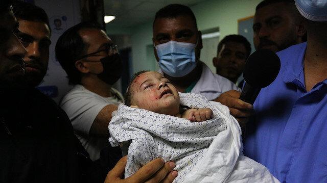 İşgalci İsrail ordusu katliama doymuyor: Gazze'de 8'i çocuk 10 kişi daha şehit oldu