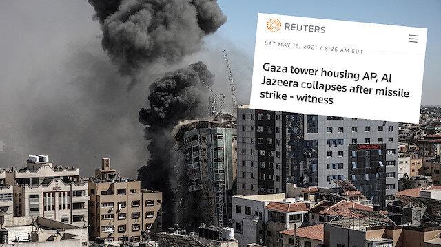 Reuters basın kuruluşlarını hedef alan saldırıda İsrail'in adını geçirmedi