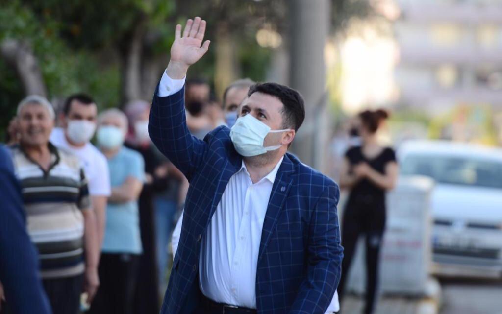 Altıeylül Belediye Başkanı Hasan Avcı.