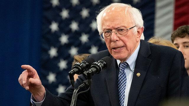 Demokrat Senatör Bernie Sanders'tan ABD yönetimine İsrail tepkisi