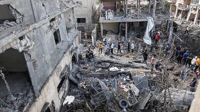 İsrail gece boyunca Gazze'yi vurdu: Şehit sayısı 8'e yükseldi